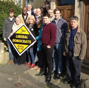 Bath Lib Dems First Euro Action Day (15th of March)