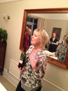 Angela Mount, passionate about wine